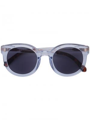 Солнцезащитные очки Oha Epøkhe. Цвет: серый