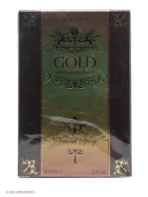 FOR MEN GOLD EDT 100ML SPRAY CHRISTINE DARVIN. Цвет: прозрачный