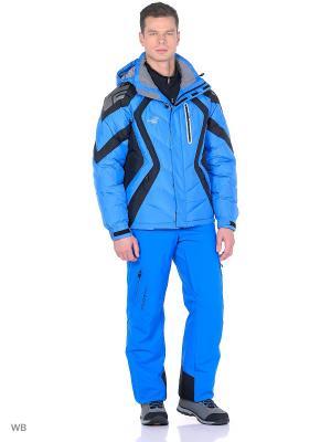 Куртка Think Pace. Цвет: голубой, черный