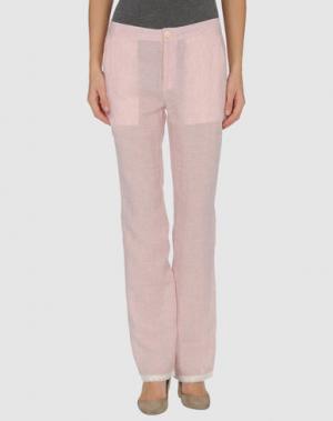 Повседневные брюки BY TI MO. Цвет: розовый