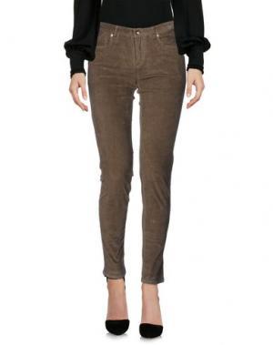 Повседневные брюки WOOLRICH. Цвет: зеленый-милитари