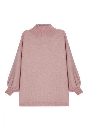 Розовый свитер из шерсти A LA RUSSE. Цвет: розовый