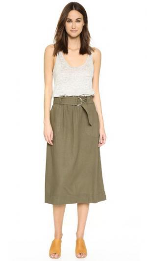 Платье Bondi Brochu Walker. Цвет: комбинированный серо-зеленый