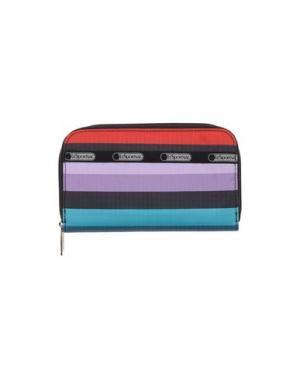 Бумажник LESPORTSAC. Цвет: фиолетовый