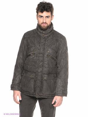 Куртка LERROS. Цвет: темно-коричневый
