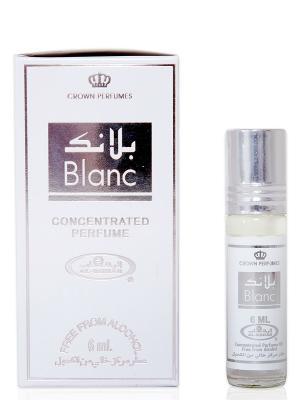 Арабские масляные духи Блан (Blanc), 6 мл Al Rehab. Цвет: горчичный, белый