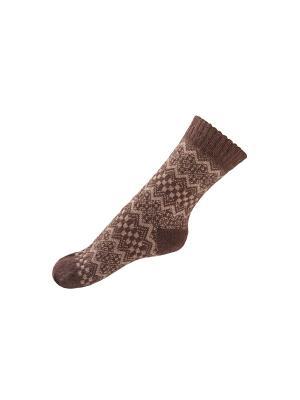 Носки MilanKo. Цвет: коричневый