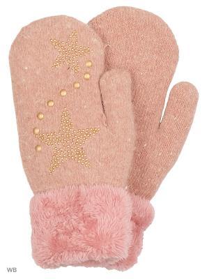Варежки Migura. Цвет: розовый
