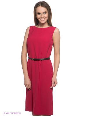 Платье Baon. Цвет: малиновый