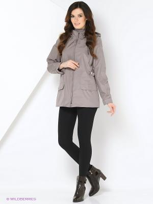 Куртка WILMA Maritta. Цвет: серо-коричневый