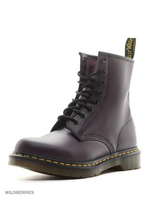 Ботинки Dr.Martens. Цвет: фиолетовый