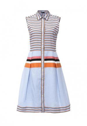 Платье Jil Sander Navy. Цвет: голубой