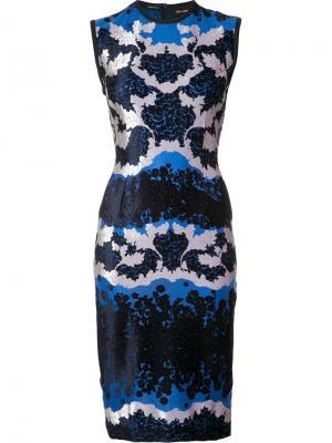 Платье Daisy Trellis Yigal Azrouel. Цвет: чёрный