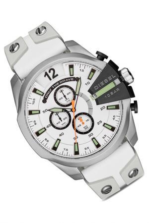 Наручные часы Diesel. Цвет: серебряный, белый