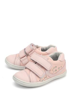 Кроссовки PAVLE. Цвет: розовый