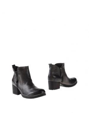 Полусапоги и высокие ботинки VOLPATO. Цвет: свинцово-серый