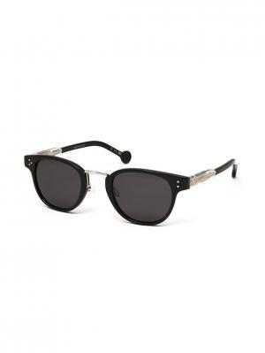 Солнцезащитные очки HS 615S 04 HALLY & SON. Цвет: черный, золотистый