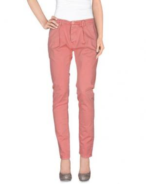 Повседневные брюки AN UPDATE. Цвет: пастельно-розовый
