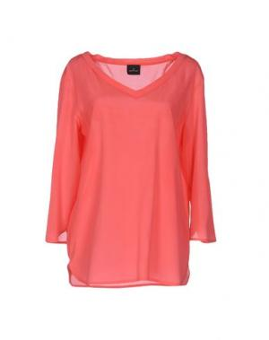 Блузка GOTHA. Цвет: коралловый