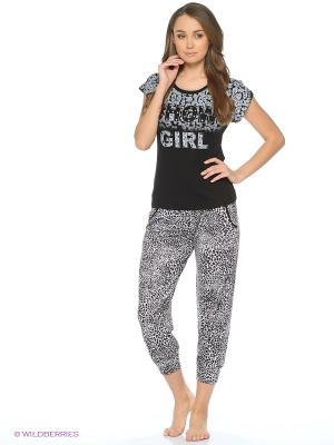Пижама NICOLETTA. Цвет: черный