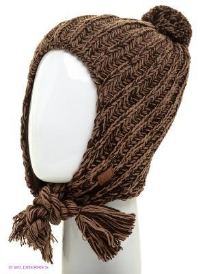 Ушанка Marhatter. Цвет: коричневый, серо-коричневый