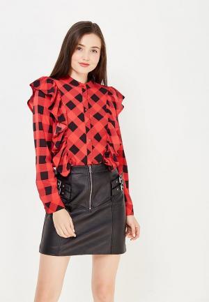 Блуза Sweewe. Цвет: красный