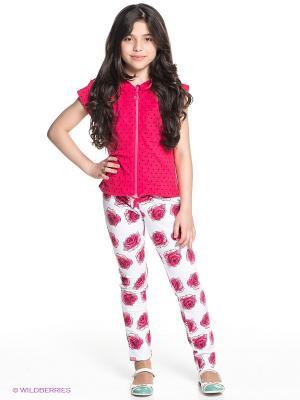 Комплект одежды PELICAN. Цвет: белый, черный, розовый