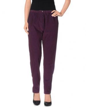 Повседневные брюки LOCAL APPAREL. Цвет: фиолетовый