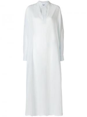 Платье-туника Michel Klein. Цвет: синий