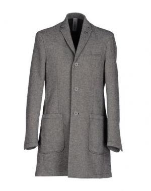 Пальто J.W. TABACCHI. Цвет: свинцово-серый