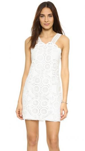 Платье Iva Alexis. Цвет: белый