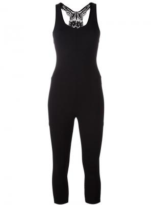 Giglio jumpsuit Sàpopa. Цвет: чёрный