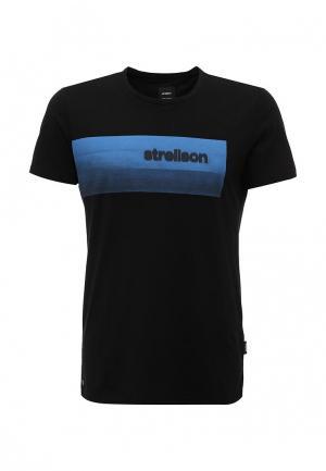 Футболка Strellson. Цвет: черный