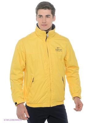 Куртка Stonecast. Цвет: желтый