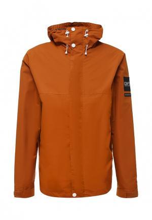Куртка CLWR. Цвет: оранжевый
