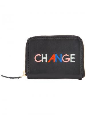 Кошелек для монет  Change Lizzie Fortunato Jewels. Цвет: чёрный
