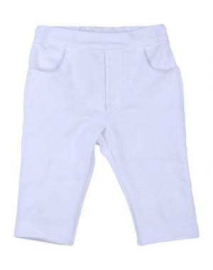 Повседневные брюки NANÁN. Цвет: белый