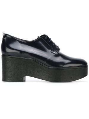 Туфли на шнуровке Xonca Robert Clergerie. Цвет: синий