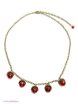 Ожерелье PS by Polina Selezneva. Цвет: оранжевый