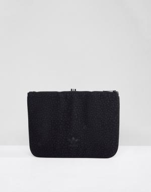 Adidas Originals Черный фактурный кейс для ноутбука CE5630. Цвет: черный