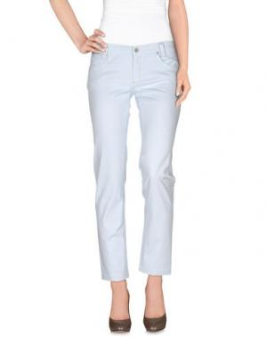 Повседневные брюки BETWOIN. Цвет: небесно-голубой