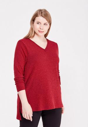 Пуловер Lina. Цвет: бордовый