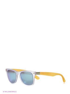 Солнцезащитные очки TOUCH. Цвет: сиреневый, оранжевый