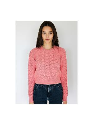 Свитер Wooly's. Цвет: светло-коралловый