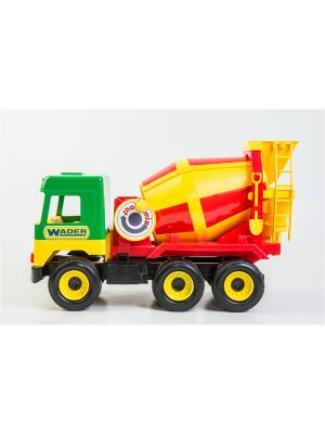 Middle truck бетоносмеситель ТИГРЕС. Цвет: желтый, синий, зеленый, красный