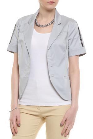 Пиджак BGN. Цвет: серый