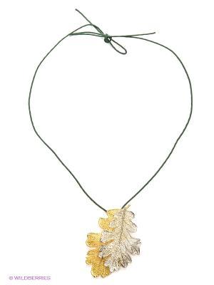 Колье Ester Bijoux. Цвет: серебристый, золотистый