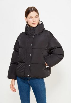 Куртка утепленная Pepe Jeans. Цвет: черный