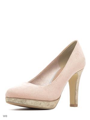 Туфли S.OLIVER. Цвет: розовый