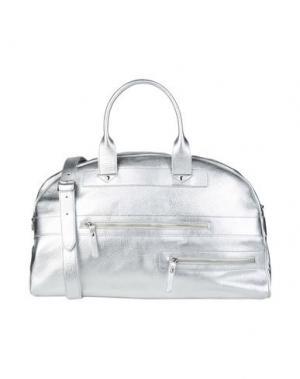 Дорожная сумка DOUCAL'S. Цвет: серебристый